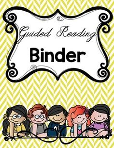 8 Divider Sheets To Put Inside Your Reading Binder.FREEIES!! This is a thank you to all my followers!