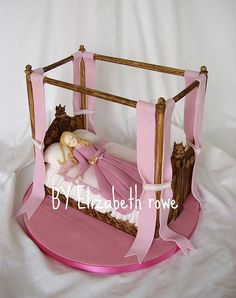 sleeping beauty cake by Libbys creations, via Flickr