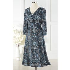 Damask Sweater Dress - Women's Clothing, Unique Boutique Styles & Classic Wardrobe Essentials