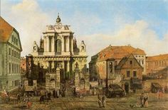 Carmelite Church in Warsaw - Bernardo Bellotto