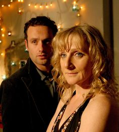 Andrew Lincoln and Lesley Sharp, in the excellent 'Afterlife' (why didn't they make more? Oh yeh, cos Andrew Lincoln went off to the US! Anna Wilson, Wilson Jones, Andrew Lincoln, Lesley Sharp, See Again, Movies Worth Watching, Me Tv, Great Movies, I Movie
