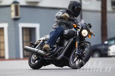 2015 Harley-Davidson Street 750 action shot