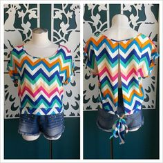 Chevron Top / $19