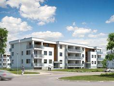 Akant to budynek wielorodzinny, podpiwniczony, o przejrzystym i funkcjonalnym układzie. W budynku na trzech kondygnacjach zaprojektowano 22 mieszkania, zaś w piwnicy 18 stanowisk garażowych. Pełna prezentacja projektu znajduje się na stronie: http://www.domywstylu.pl/projekt-domu-akant.php.  #projekty, #wielorodzinne, #akant, #mieszkania, #domywstylu, #mtmstyl
