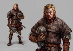 STIAN DAHLSLETT Concept Artist : Characters : Characters II