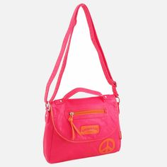 UNIONBAY Washed Neon Flap Cross Body Bag  896ff7334ac33