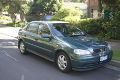 2001 HOLDEN ASTRA TS CD my 2nd car in black