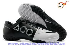 newest collection a4bac eaba8 Nike GS Vert Speed Concept II ACC TF Blanc Noir FT4122 Nike Soccer Shoes,  Soccer