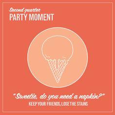 Stain Tip 2 of 4: Ice cream