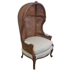Classic Double-Caned Porter Chair | From a unique collection of antique and modern chairs at https://www.1stdibs.com/furniture/seating/chairs/