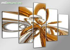. Precioso cuadro en lienzo el cuadro de 5 piezas - totalmente nuevo precintado - la mejor calidad con la medida total 200 cm de ancho 100 cm largo, el cuadro enmarcado listo para colgar, el env�o GRATIS a toda la uni�n europea tiempo de entrega entre 10-12