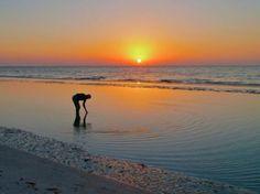 Sunrise Shelling on Sanibel Island Florida