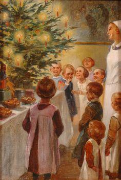 §§§ . Christmas Time ~ Hans Stubenrauch 1900