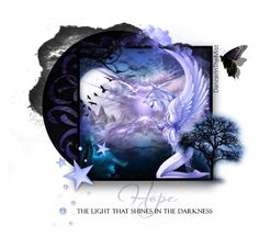 """""""HOPE. ...The light that shines in the darkness"""" by dancerinthemist ❤ liked on Polyvore"""