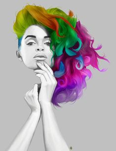 colorful inspirations | Music Inspiration: Colors of My Mind Mix