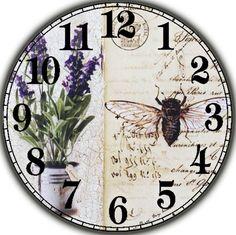 Циферблаты для декупажа часов.   225 photos   VK Cd Crafts, Paper Crafts, Clock Flower, Home Clock, Handmade Clocks, Vinyl Records, Embellishments, Decoupage, Laminas Vintage