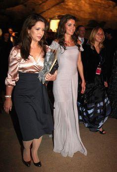 Princess Haya and Queen Rania