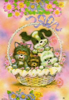 Fantasia 4 #dogs #puppies #papeldecarta