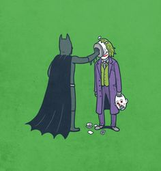 Batman...pie...