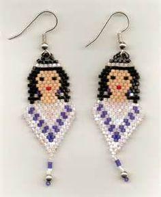 Seed Bead Earrings - Bing images