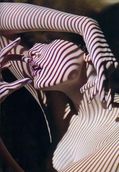 Lines and Shadows.  Photographer: Solve Sundsbo Numero Magazine 2008