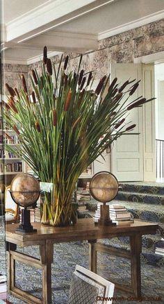 Architectural Digest December 2010 More<br> Deco Floral, Arte Floral, Floral Design, Ikebana, Deco Spa, Hotel Flowers, Deco Champetre, Architectural Digest, Flower Power