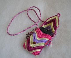 crochet cell phone cases | How about shoelaces? :-)