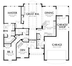 78 best HOUSE PLANS images on Pinterest | Floor plans, House floor ...