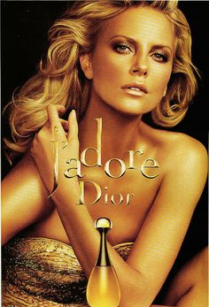 Charlize Theron for Diors perfume J'adore. #perfume Get this perfume for just $14.95/month www.scentbird.com