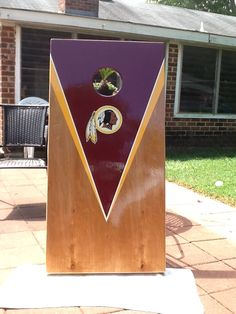 #Redskins cornhole boards - perfect for home or when you're tailgating! #HTTR #LiveIt
