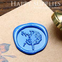 Buy 1 Get 1 Free  1pcs Dandelion Gold by HappyJewelrySupplies, $9.80