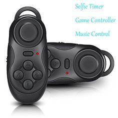 Mini portátil multifunción inalámbrico Bluetooth 2.0 Self - https://complementoideal.com/producto/tienda-socios/mini-porttil-multifuncin-inalmbrico-bluetooth-2-0-self-timer-selfie-obturador-alejado-para-apple-ios-android-4-0-juego-de-consola-gamepad-controller-apk-icade-juegos-negro/