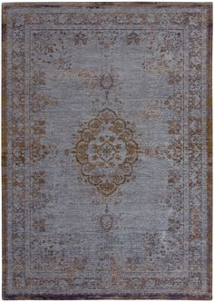 Louis De Poortere The Fading World Collection Medallion Grey Ebony 8257 Rug: http://www.love-rugs.com/?action=view_rug&id=1591