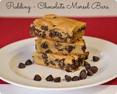 Pudding – Chocolate Morsel Bars Pudding - Chocolate Morsel Bars | Peanut and Tree Nut Free