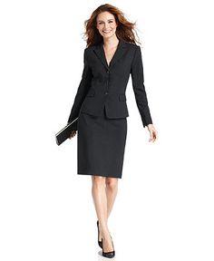 Tahari ASL Fuchsia Skirt Suit | Women's Suits | Pinterest | Skirt ...