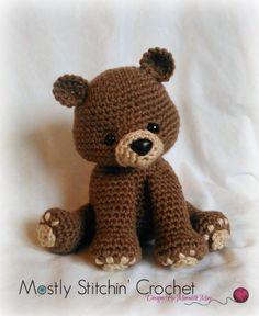 Bear Pattern; Black, Brown, Polar Bear | Craftsy