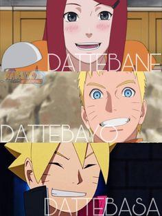 Himawari não herdou o Datte Naruto Boruto anime