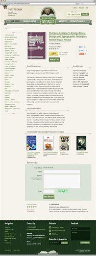 Petaluma Paperbacks web site