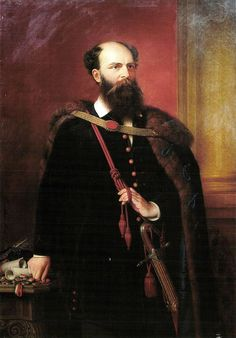 Lajos Battyany was the first Prime Minister of Hungary. Executed by order of a Military Court under pressure from Prince Felix of Schwarzenberg and the Austrian Empire.