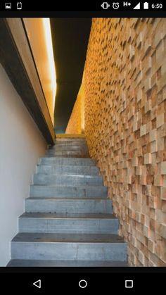 Muro con polines muros de madera pinterest walnut Muros de madera