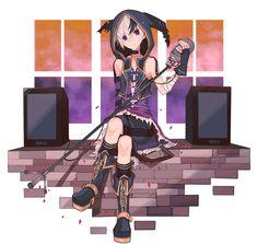 V Flower Image - Zerochan Anime Image Board Vocaloid Characters, Mikuo, 2 Logo, Love My Kids, Flower Images, Hatsune Miku, Flower Cards, Kawaii Anime, Anime Guys