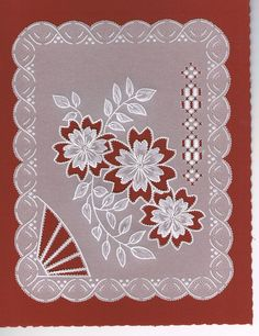 17 Best images about Pergamano-papel vegetal-parchment . Hand Embroidery Projects, Machine Embroidery Designs, Embroidery Patterns, Ribbon Embroidery, Vellum Crafts, Ribbon Crafts, Parchment Design, Parchment Cards, Butterfly Template
