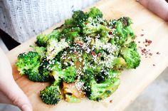This is one of the easiest and tastiestsides you'll ever have – I swear! Just add your protein of choice (try my Japanese-inspired Salmon or Teriyaki Chicken) and you've got the perfect, nutritionally-balanced meal that will leave you feeling satiated and your tastebuds singing!!  Easy Broccoli Stir-Fry with Sesame and Chilli  Serves: 2-4  Ingredients: 2 garlic cloves, minced 1 tsp coconut oil 2 small broccoli heads, cut into florets 1-2 tbsp tamari sauce 1 tbsp sesame oil 1 tbsp sesame…