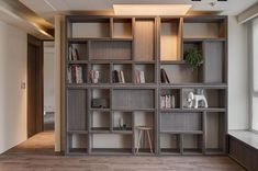 Awesome DIY Bookshelves Storage Style Ideas - Page 83 of 97 Furniture Design, Bookshelves Diy, Home Interior Design, Home Office Design, Living Room Designs, Bookshelf Storage, Bookshelves, House Interior, Home Decor Furniture