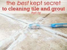 The Best Kept Secret to Cleaning Tile and Grout