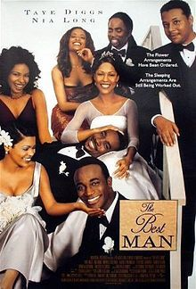 The Best Man Movie - Taye Diggs, Sanaa Lathan, Terrance Howard, Nia Long, Morris Chestnut Nia Long, Best Man Movie, Love Movie, Movie Tv, Movie Scene, Movies Showing, Movies And Tv Shows, Image Cinema, African American Movies