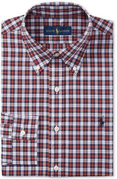 Polo Ralph Lauren Men's Estate Classic/Regular Fit Easy-Care Plaid Dress Shirt Ralph Lauren Mens Shirts, Polo Ralph Lauren, Review Dresses, Plaid Dress, Plaid Pattern, Dress Shirts, Casual Dresses, Vogue, Men Casual