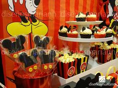 1000 images about mesas de dulces on pinterest mesas - Fiesta tematica mickey mouse ...