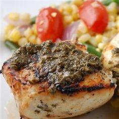 Pescado blanco con mantequilla de cilantro @ allrecipes.com.mx