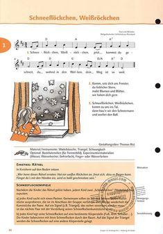 Singen im Kindergarten (Allgemeine Ausgabe) (7) Thing 1, Sheet Music, Advent, Musica, Songs, Teaching Materials, Playing Guitar, Music Score, Music Notes